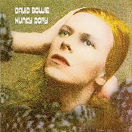 The cover of the David Bowie album, Hunky Dory.